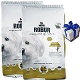 Bozita 2X 11,5 kg Robur Sensitive Grain Free Chicken Huhn Hundefutter + Geschenk