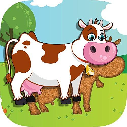 Tierpuzzle für Kleinkinder und Vorschulkinder Kostenlose Kindle-spiele Für Kleinkinder