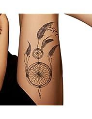 Tatouages Temporaires,OverDose Body Art Waterproof Tatouages éPhéMèRes Mode Tatouage Autocollants