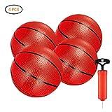 Surenhap 4 Pcs Palla da Pallacanestro per bambini Sostituzione della palla mini per bambini, basket