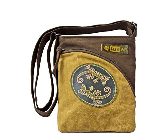 Sunsa, Borsa a tracolla donna hellgrün/khaki Größe ca. (BxHxT): 20,5x26 cm hellgrün/khaki