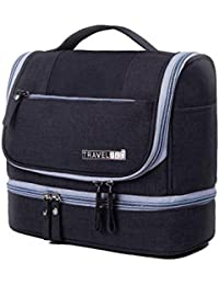ASkyl Waterproof Travel Toiletry Bag For Makeup And Cosmetic Organizer For Women And Men (Color May Vary)