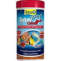 Tetra Pro Colour Fish Food, Complete Premium Food for All Tropical Fish and Extra Colour, 250 ml