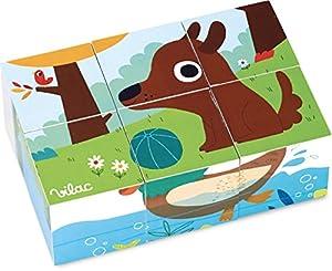 Vilac Vilac7901 Gallimard Animals - Bloques de Madera