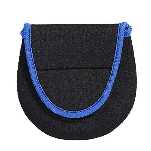 AFFEco Tragbare Nylon Tauchen Stoff Angeltasche Spinning Reel Pouch Schutztasche -