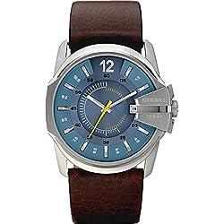 Diesel DZ1399 - Reloj de pulsera para Hombre, azul / marrón