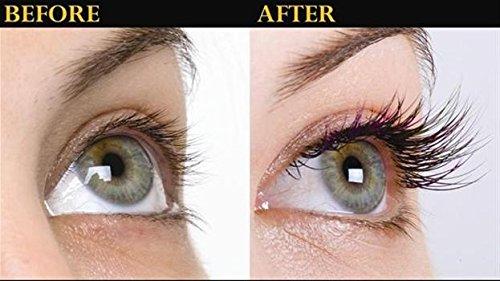 Serum de pestañas para pestañas y cejas largas Mejora el crecimiento de las pestañas y el crecimiento de las cejas con…