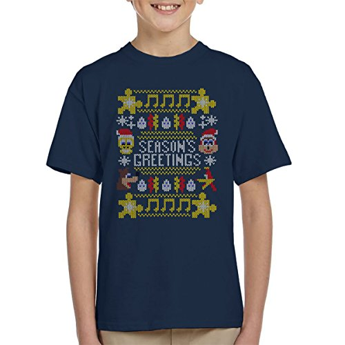 Banjo Kazooie Christmas Knit Kid's T-Shirt gebraucht kaufen  Wird an jeden Ort in Deutschland
