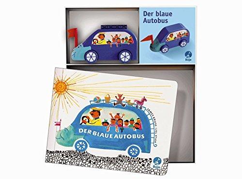 Preisvergleich Produktbild Der blaue Autobus - Spielbox (Krüss)