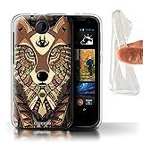 Stuff4 Gel TPU Hülle / Hülle für HTC Desire 310 /