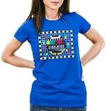 style3 Testbild Damen T-Shirt Sheldon, Farbe:Blau;Größe:M