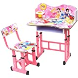 Kris toy Study Table and Chair Prinsess for Kids
