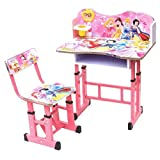 #4: Barbie Kids Learning Education New Wooden study table and chair for kids/Best for study
