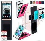 reboon Uhappy V5 Hülle Tasche Cover Case Bumper | Pink | Testsieger