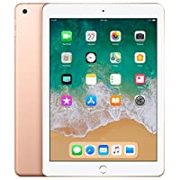 "Apple iPad 9.7"" (2018 - 6th Gen), Wi-Fi, 128GB, Gold [With Facetime]"