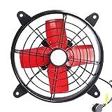 WJJH Abluftventilator Küche Rauchabzug Fan leistungsstarke Abluftventilator Hause Fenster Typ Lüftung Industrie Rauchen Abluftventilator, 39 * 39 cm