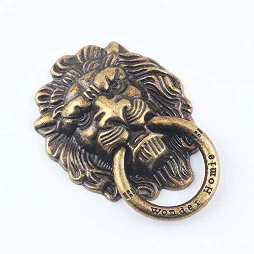 MOMEY Fingerring Stand Lion Kopf Form Telefon Ring Grip Ständer Halter für iPhone 6 s 7 8 Plus Smartphone Ring