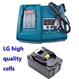 FengWings® 1x 18V 3000mAh Makita Power tool Battery BL1830 with 1.5 A Makita Charger