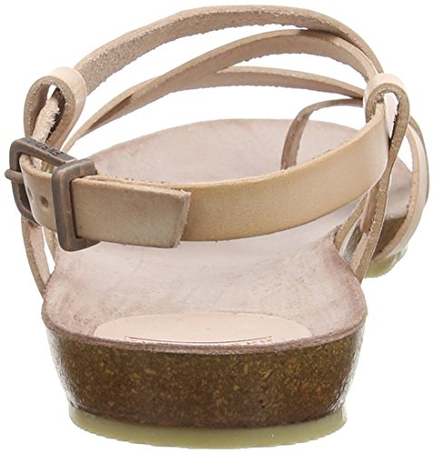 Fred de la BretoniereFred comfort sandalet cross straps elegant last Elche - Sandali a Punta Aperta Donna Marrone (Braun (Cuarzo))