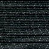 BIG-SAM - 2 Meter Standard Elastic Gummiband - 8mm Breit - flach - Zick-Zack Muster - Schwarzes Gummiband