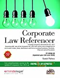 Corporate Law Referencer, Fourth Edition (FY 2018-2019)
