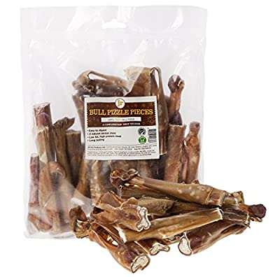250g Bulls Pizzles 10/12cm Cut & End Pieces Bully Sticks Dog Treat Chew Supplied By JR Pet Products