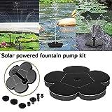Smartlife - Pompa dell'acqua a energia solare, 7 V, per piante e giardini, classe energetica A + +