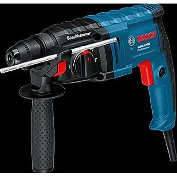 Bosch Professional GBH 2-20 D Martello Perforatore, Mandrino SDS-Plus, 650 W, Foro Calcestruzzo 20 mm, Valigetta