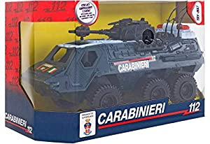 GLOBO- B/O Armoured Vehicle Carabinieri Light/Sound T-M (37834), (1)