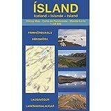 ÍSLAND: Hiking Map - Carte de Randonnée - Wanderkarte (1:50 000): Landmannalaugar, Laugavegur, Þórsmörk & Fimmvörðuháls