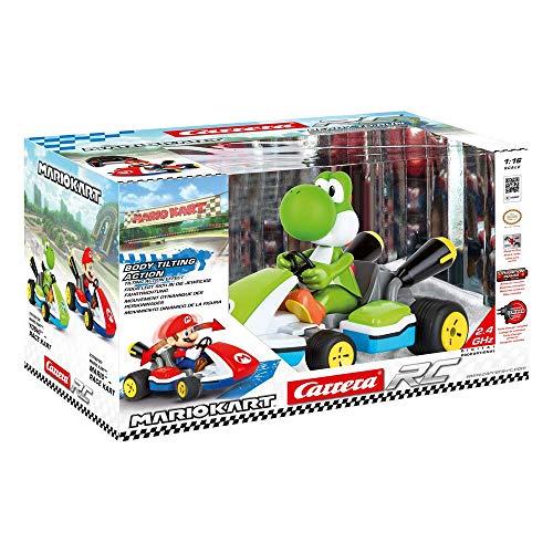 Carrera 370162108 - RC Nintendo Mario Kart Yoshi Race Kart, Ferngesteuertes Auto