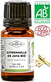 Huile essentielle de Citronnelle de Java BIO - MyCosmetik - 10 ml