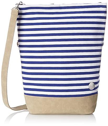 Bench Damen Canvas Cross Bag Handtasche, Bright White, 36 x 13 x 42 cm (Handtasche Bench)
