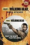 The Walking Dead Rick Sticker