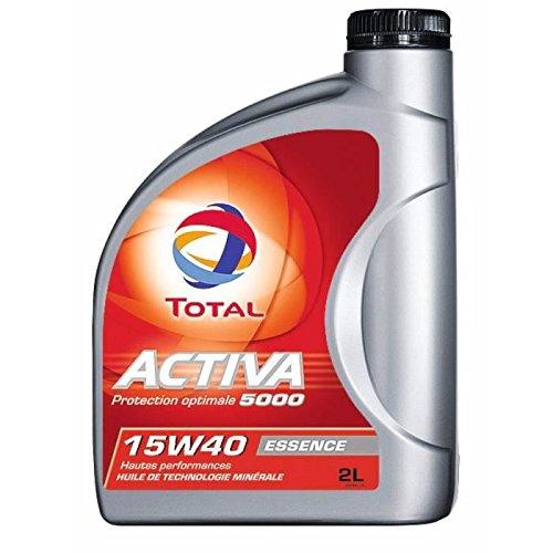 TOTAL 157293 Activa 5000 15W40, 2 L pas cher