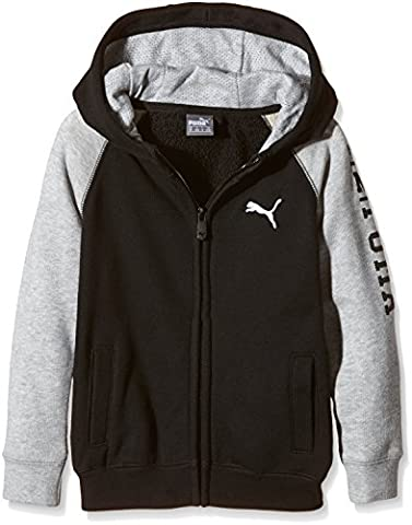 Puma Veste pour enfant Style Athletics pour homme G 5-6 ans noir