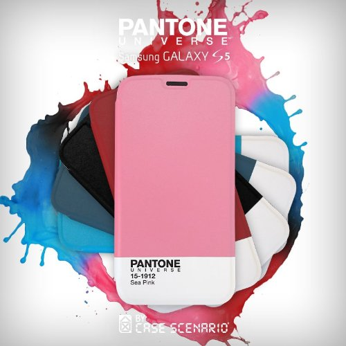 Pantone Universe Clip-On Schutzhülle Case für iPhone 5 - 19-1762 Crimson Blue Atoll