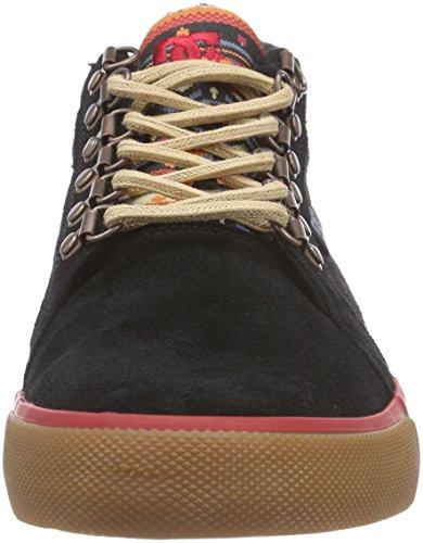 DC Shoes Council Mid WNT M Shoe Bl0, Sneakers Hautes Homme Noir (black Bl0)