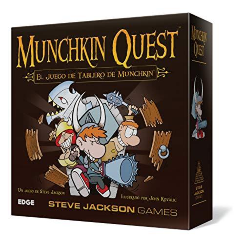 Asmodee - Munchkin Quest, Juego de Mesa (Edge Entertainment EDGMQ01)