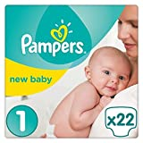 Pampers New Baby Carry Pack size 1X22