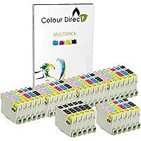 35 Colour Direct Compatible Ink Cartridges Replacement For Epson Stylus Photo R200 R220 R300 R300M R320 R330 R340 RX300 RX320 R350 RX500 RX600 RX620 RX640 Printers