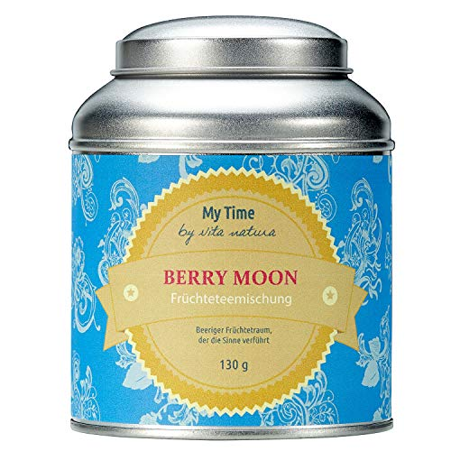 My Time Berry Moon, Früchtetee Waldbeere, 1er Pack (1 x 130 g)