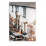 Edifici architettonici Città Tram Citazioni Wall Art Canvas Painting Nordic Posters and Prints Immagini murali per Living Room Decor b regalo