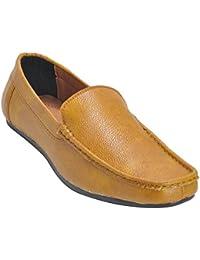 Kolapuri Centre Tan Color Casual Slip On Shoe For Men's - B075MDG5WD