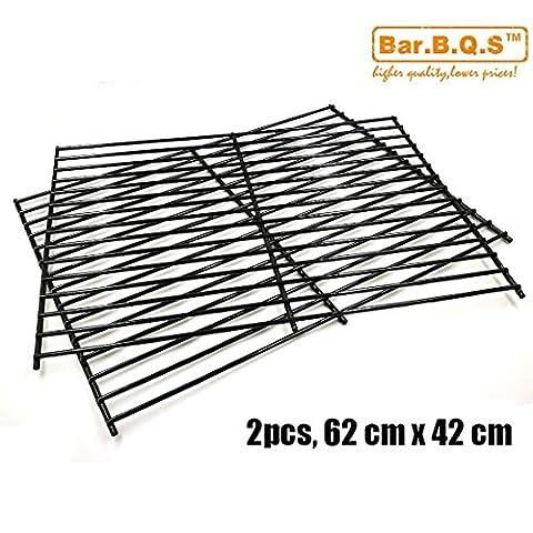 Bar. b.q.s Ersatz 52932(Set of 2) Porzellan Stahl Grillrost für