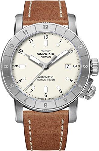 Glycine Airman 42 Double Twelve orologi uomo GL0061