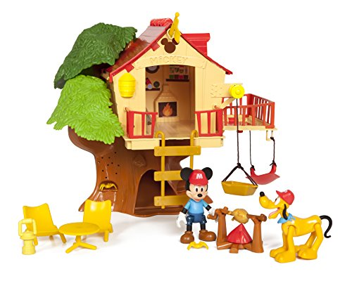 Mickey Mouse Klubhaus,Baumhaus-Spielset (Mickey Maus Spielzeug)