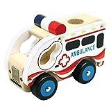 BINO 84081 - Holzauto, Ambulanz