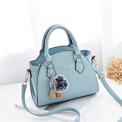 LiZhen piccoli pacchetti femmina marea nuovo presidente coreano spalla borsa Messenger borsa donna elegante borsetta Wild Wings package, vino rosso Blue