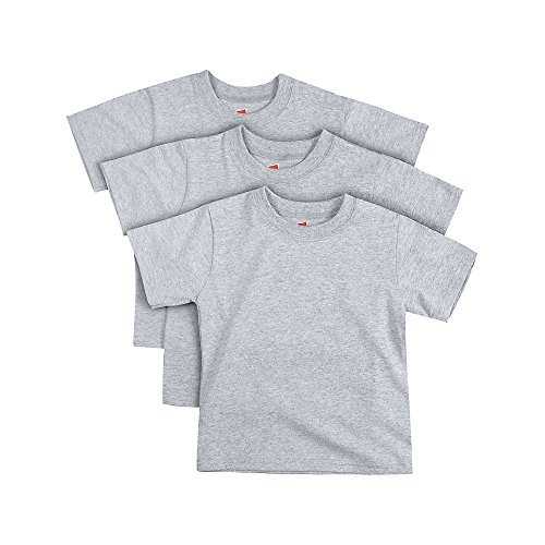 Hanes ComfortSoft Toddler Crewneck T-Shirt 3-Pack -